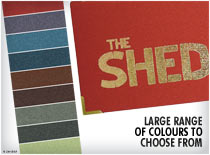 Large Range of Colours to choose from